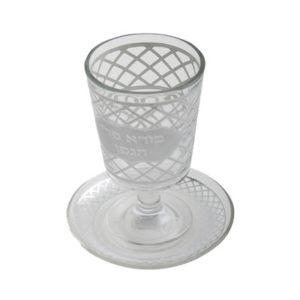 כוס קידוש זכוכית